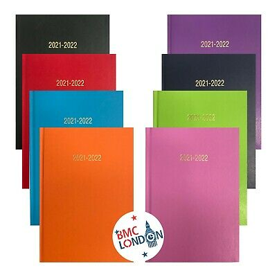 2019-2020 Academic Mid Year A4/A5 Size Week to View/Day A Page Hardback Diary