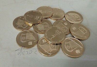 1980 Israel coin 1//2 Sheqel LION unc Beauty a very nice coin