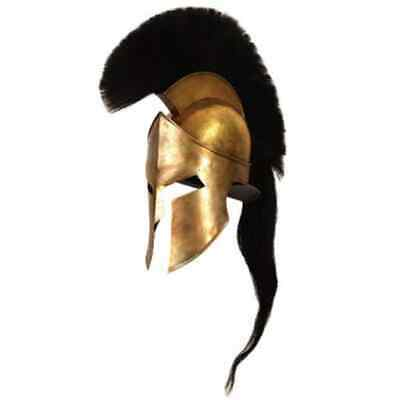 300 Movie Spartan King Leonidas Medieval Roman Helmet Greek Reenactment SCA GIFT