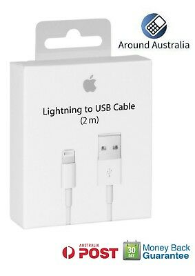 2m Lightning Data Cable Charger Compatible For iPhone X XS Max 8 7 Plus 6 5 XR