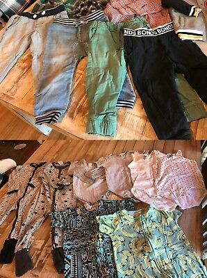 Size 2 Boys bulk lot clothing - Bonds, Pumpkin Patch, Cotton On Kids - 31 pieces