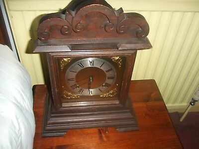 ANTIQUE AMERICAN  ANSONIA   8 DAY Chiming MANTEL CLOCK