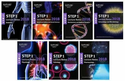 Brand New Kaplan Usmle Step 1 Lecture Notes 2018