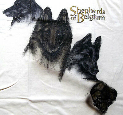 "Belgian Tervuren T-shirt  "" Natural "" 3XL ( 54 ~ 56 )"