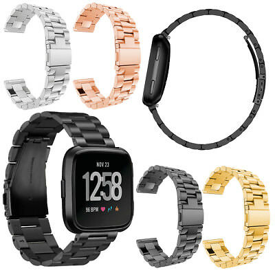 For Fitbit Versa/Lite/Special Edition Luxury Stainless Steel WristBand Watchband