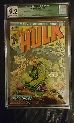 The Incredible Hulk #180 (Marvel, 1974) CGC NM- 9.2 Off-white to white pages....