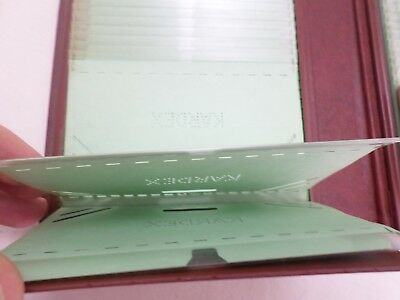 Vintage Sperry Remington Rand Kardex File Card Book - Holds 116 Cards