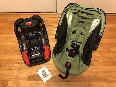 Britax B-safe 35 Infant Car Seat Meadow SafeCell SafeCenter - FREE SHIPPING!!!