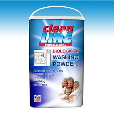 PROFESSIONAL WASHING POWDER BIO & NON BIO MASSIVE 8.1Kg CLEAN STAINS FRESH SCENT