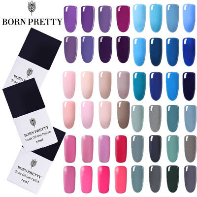 10ml Born Pretty UV Gel Nail Polish Soak off  Gel Nails Varnish Decor