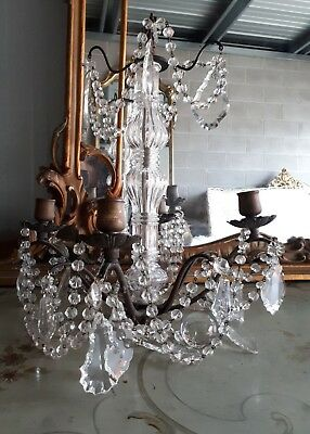 ~ Beautiful crystal chandelier ~ French