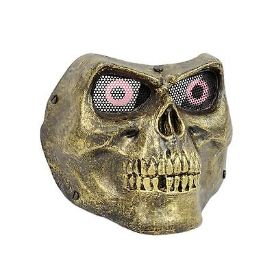 Fiber Resin Mesh Eye Paintball Airsoft Protection Army of Two M02 Skull Mask