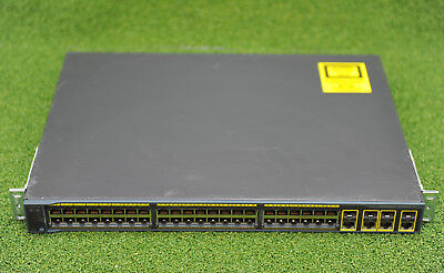 CISCO WS-C2960G-48TC-L Switch w/ 48 10/100/1000+4 Gig/SFP - 1 YEAR WARRANTY