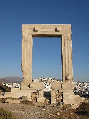 Digital Picture Image Photo Wallpaper Desktop Background Naxos Portara Greece