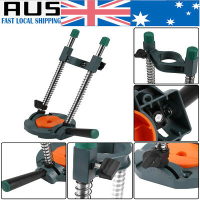 Drill Hole Guide 45°Angle Adjustable Cordless Drill Holder Woodworking Tool