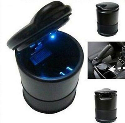 LED Cigarette Smoke Ashtray Ash Cylinder Cup Holder Auto Car Truck Precise DT4