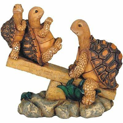 Chen Imports 3 Turtles On Seesaw For Home Garden Decoration Collect Yard Patio