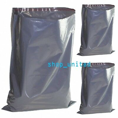 """12"""" x 16"""" 305 x 406mm Strong Grey Mailing Postage Bags Cheapest on eBay Reduced!"""