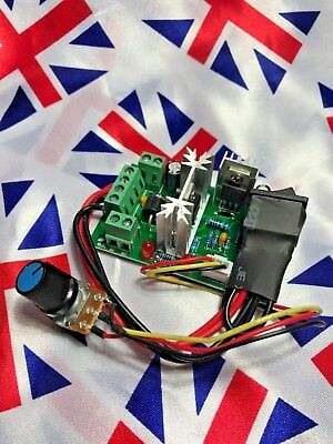 ⭐ 6-30V DC Motor SCR Voltage Regulator PWM Control Forward Reverse Switch⭐