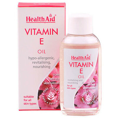 Healthaid Vitamin E Oil For All Skin Types - Scars, Dry Skin, Moisturising