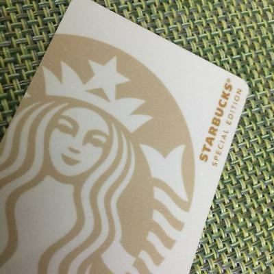 New China 2018 Starbucks Coffee Special White Siren MSR Card 1pc