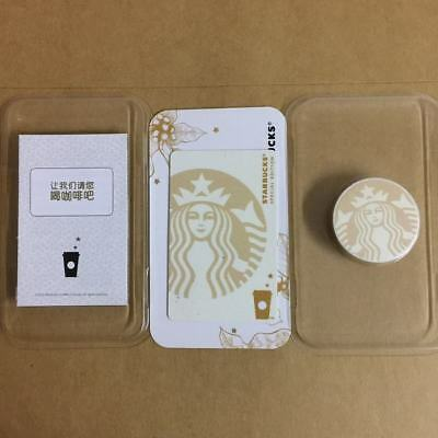 New China 2018 Starbucks Coffee Special White Siren MSR Card With phone holder