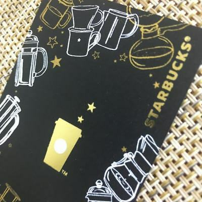 New Starbucks 2018 China Coffee Journey MSR Used Card