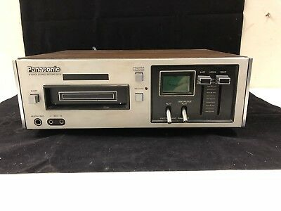 Vintage Panasonic 8 Track Stereo Record Deck ***Working***