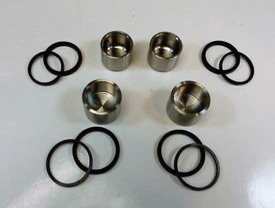 STAINLESS STEEL BRAKE CALIPER PISTONS & SEALS FOR Yamaha FZ8 800 N  2011