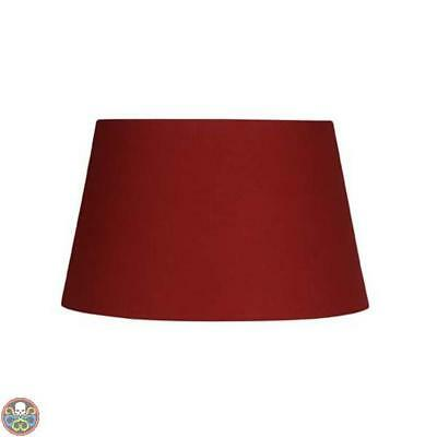 Oaks Lighting Red Paralume In Cotone Rosso Nuovo