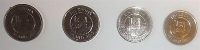 Reduced!  2011 Iceland 1 Kr (4 Coins)