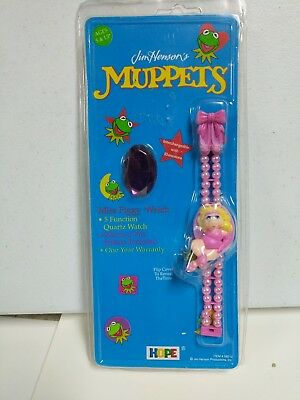 Jim Henson's Miss Piggy 1993 Collector Watch by Hope Industries