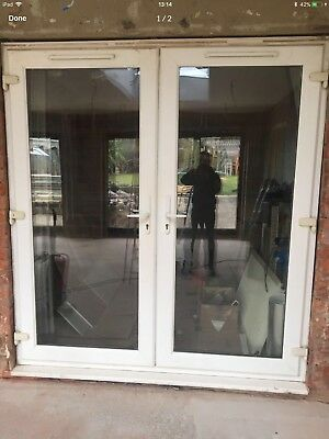 Upvc French Patio Double Opening Doors Double Glazed 70ins Wide X