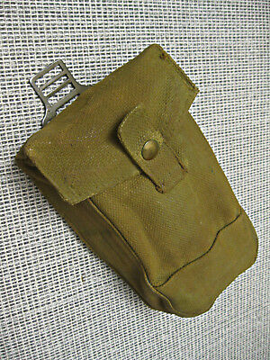 Canadian Army WW2 ammo Basic Pouch p37 dated 1943