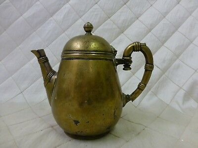 Antique 19th Century Christofle Silver Plated Tea Pot Paris Teapot *read desc *