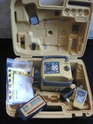 Topcon RL-SV2S Dual Slope Laser Level With LS-100 Receiver CLEAN #2