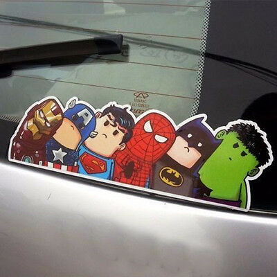 5pc The Avengers Car Truck Auto Window Windshield Sticker DIY Film Wrap Decals
