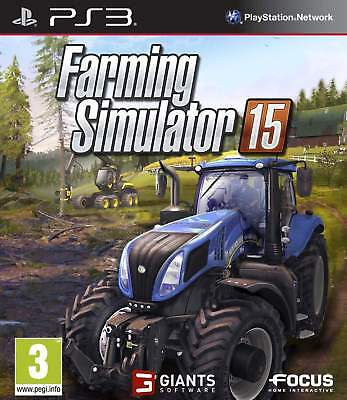 Farming Simulator 15 PS3 Game Brand New In Stock From Brisbane