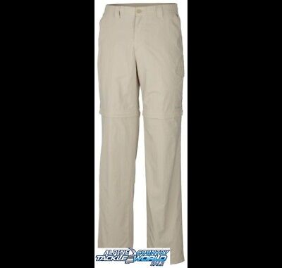 Columbia PFG Convertible Men's Fossil Pants @ Tackle World Sale