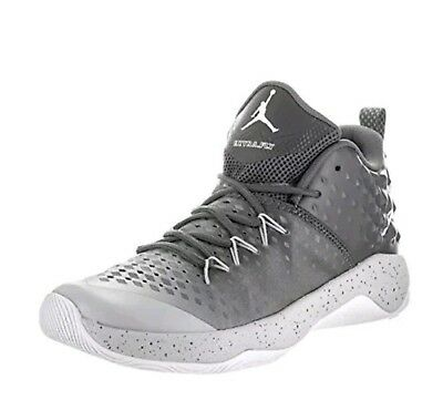 6becc2754fd Mens New Jordan Extra Fly Basketball Shoes 854551 003 Size 18 Grey White  Gray