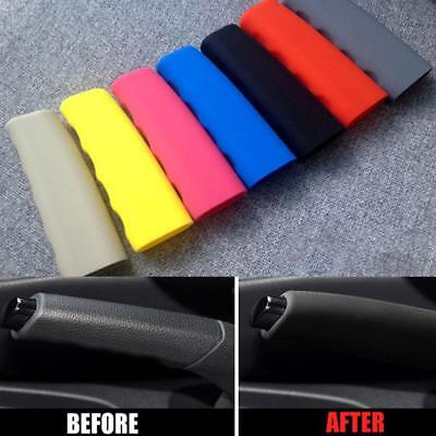 Silicone Car Hand Brake Covers Interior Parking Handle Lever Handbrake Boot Case