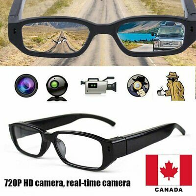 Mini HD 720P Spy Camera Glasses Hidden Eyewear DVR Video Recorder Cam CANADA