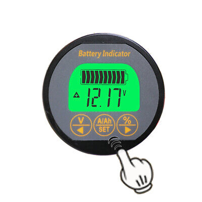 Battery Monitor 80V 100A Caravan RV Motorhome UPS lithium iron lead-acid 999 AH