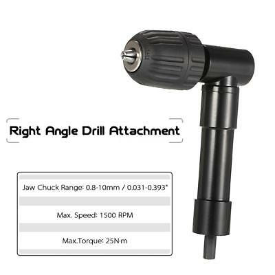 0.8-10mm Right Angle Bend Extension 90 Degree Drill Attachment Adapter Tool B4M8