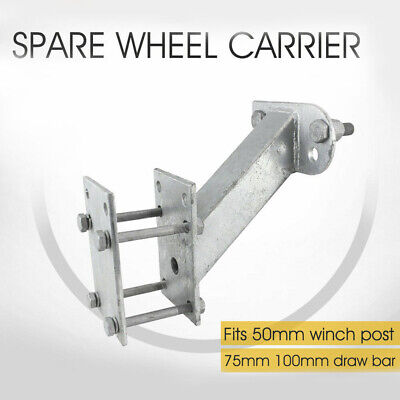 Spare Wheel Carrier Holder Camper Trailer Caravan Boat Holden Ford Iron AU Stock