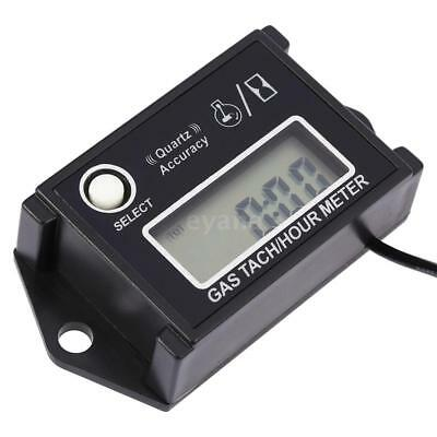 Digital LCD Tach Hour Meter Tachometer RPM Tester For 2/4 Stroke Engines UK P3V3