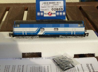 Tillig 02689 Diesel Locomotive V 180 Company D & TT SPECIAL MODEL Digital Club 7