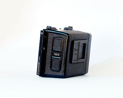 Bronica 120 Complete Film Back For ETR, ETRS & ETRSi Nice Condition
