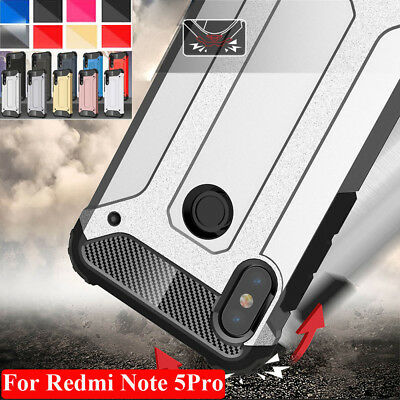 Shockproof Armor Case for Xiaomi 6/6X Redmi Note5/5Plus Hybird Hard Bumper Cover