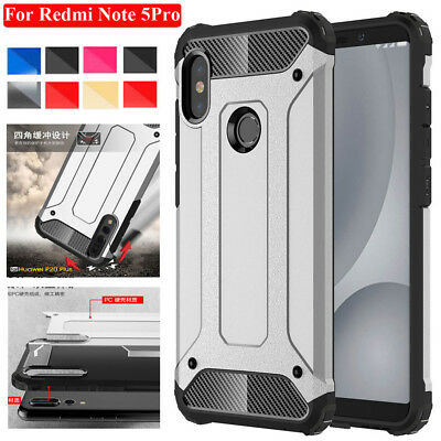 For Redmi Note5/5 Plus Mi6X Case Rugged Armor Shockproof Protective Phone Cover